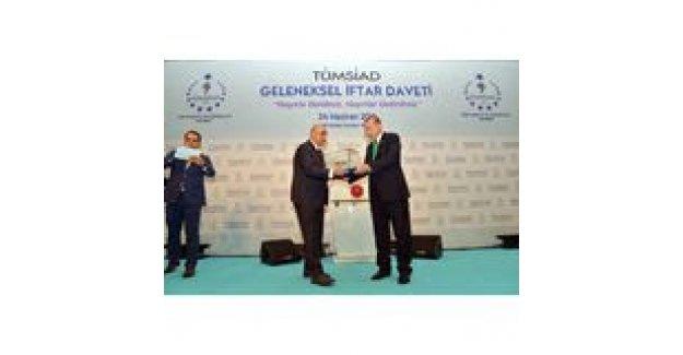 Erdoğan TÜMSİAD iftarına katıldı