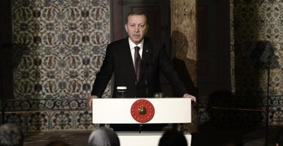 Erdoğan'ın Topkapı Sarayı açılış töreni konuşması