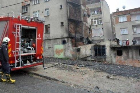 Esenler'de çıkan yangında 2 Suriyeli çocuk öldü