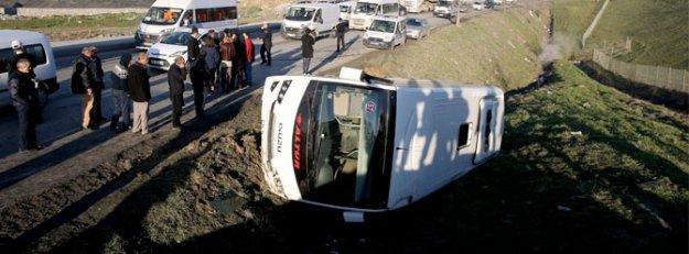 Esenyurt'ta kaza: 8 yaralı