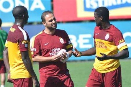 Galatasaray'da Braga maçı hazırlıkları sürüyor
