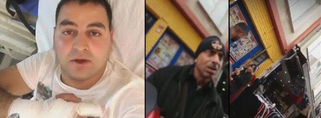 Gazeteciye Kadıköy'de öldüresiye dayak