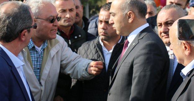 Halktan Kerimoğlu'na Protesto