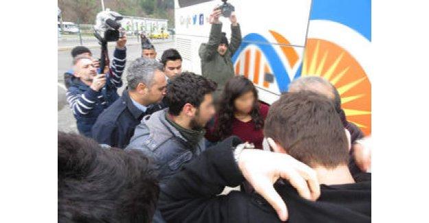 Harem Otogarı'nda iki kişi gözaltına alındı