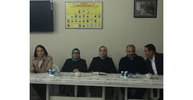 Hemşehrileri Ak Partili Serap Yaşar'ı Bağrına bastı