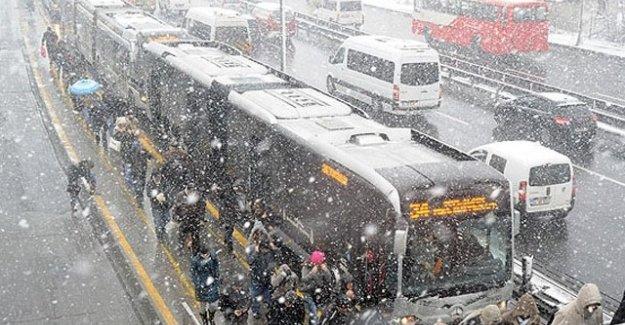 İBB'den İstanbul'un kar raporu
