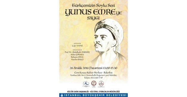 İBB, Türkçemizin soylu sesi Yûnus Emre'yi özel bir programla anacak