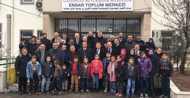 İMDD yardım kampanyası Gaziantep'e ulaştı