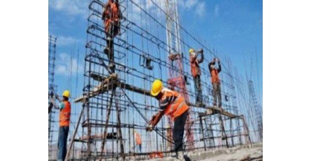 İnşaat sektöründe istihdam yüzde 7 arttı