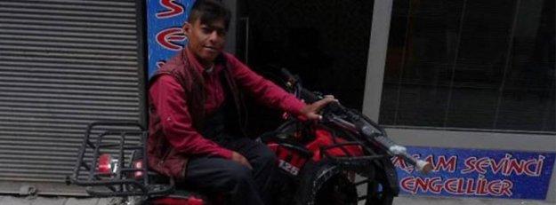 'İnsanlık dersi' verdi, hediye ATV ile kazada öldü