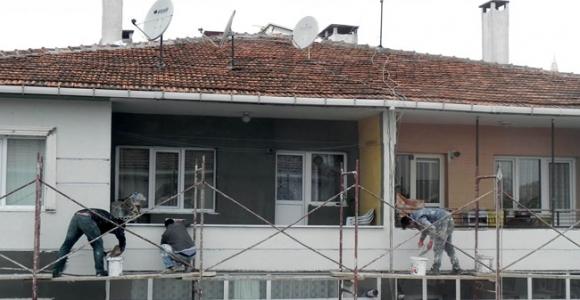 İşçiler 1 Mayıs'ta böyle çalışmaya devam etti