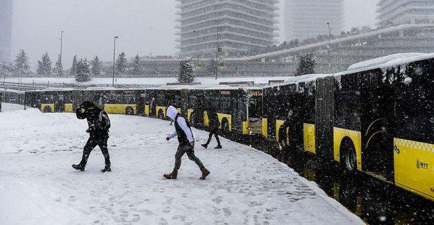 İstanbul'a kar yağışı geliyor!