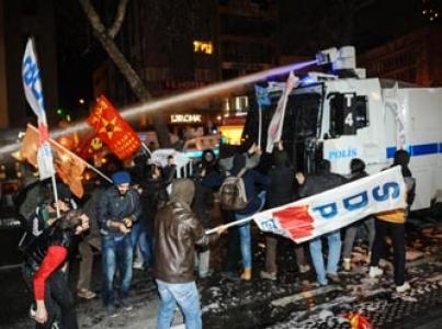 İstanbul, Ankara ve İzmir'deki eylemelere polis müdahalesi