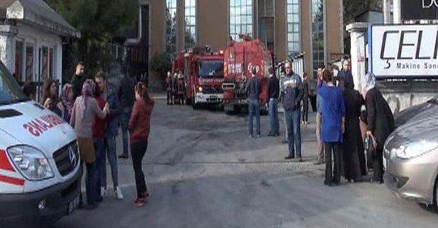 İstanbul Avcılar'da buhar kazanı patladı