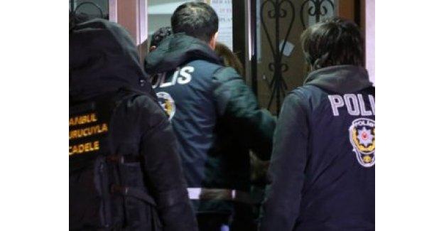 İstanbul'da 13 adrese uyuşturucu baskını