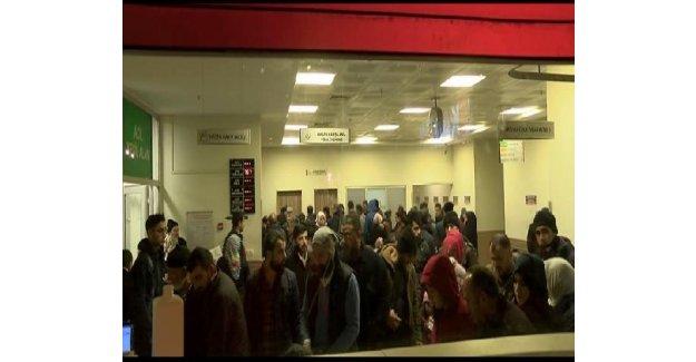 İstanbul'da grip salgını yüzünden hastanelerde yoğunluk