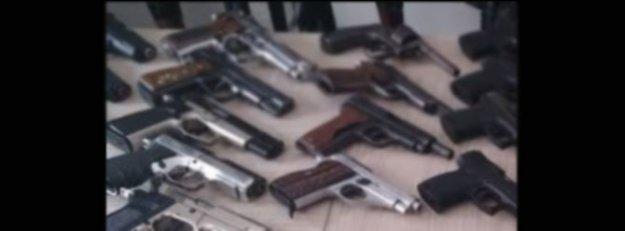 İstanbul'da kaçak silah operasyonu