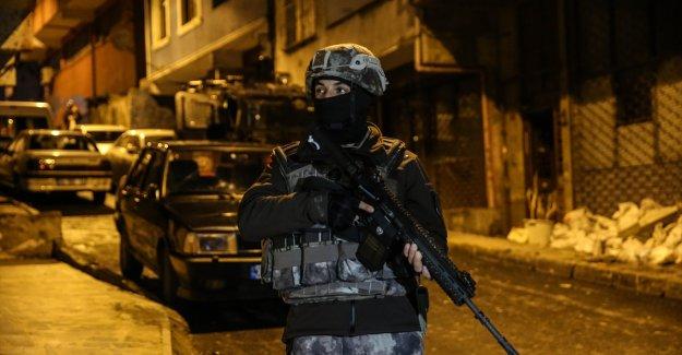 İstanbul'da PKK'lı teröristlere eş zamanlı operasyon