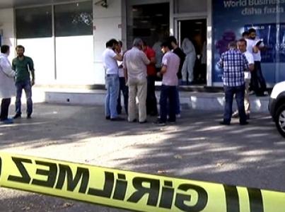 İstanbul  İSTOÇ'ta silahlı banka soygunu