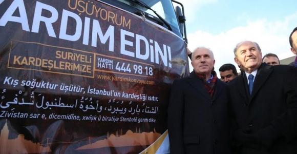 İstanbul Suriyeli Kardeşlerine Sahip Çıktı