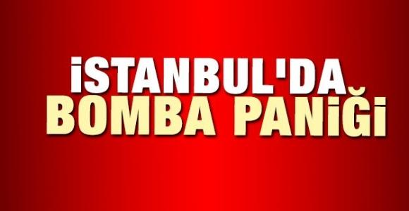 İstanbul'da 4 bomba paniği