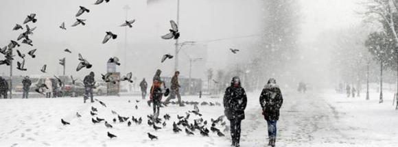 İstanbul'da kar en çok bu bölgeleri etkileyecek