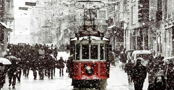 İstanbul'da kış çalışmaları