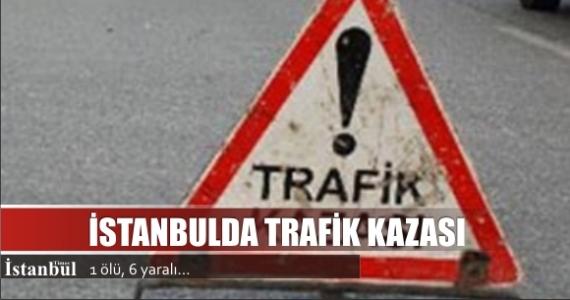 İstanbul'da trafik kazası