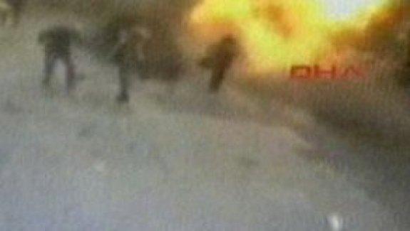 İstiklal Caddesi'ndeki patlama anı
