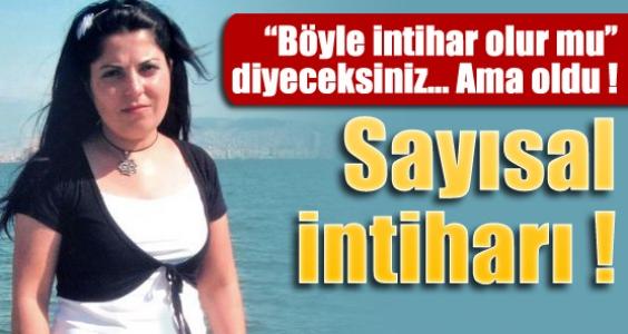 İzmir'de sayısal intiharı !