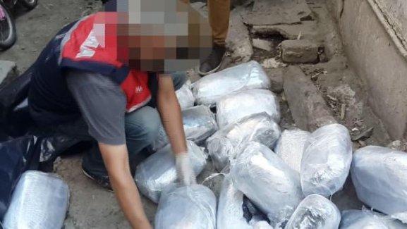 Jandarmadan milyonlarca liralık uyuşturucu operasyonu