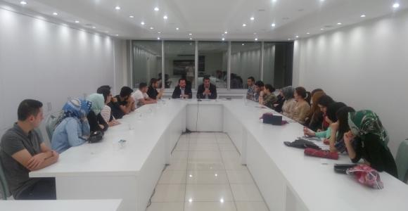 Kağıthane Belediyesi Gençlik Meclis Çalışıyor