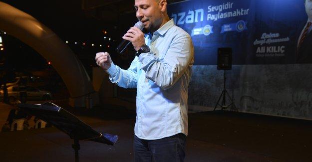 Kahraman Tazeoğlu Maltepelilerle Buluştu