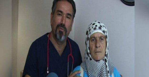 Kalbinin sağ tarafta olduğunu 56 yıl sonra öğrendi