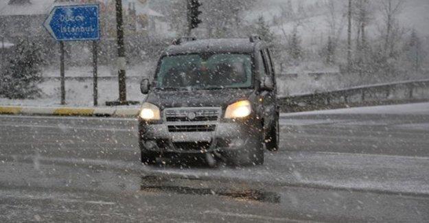 Kar İstanbul'a yaklaştı