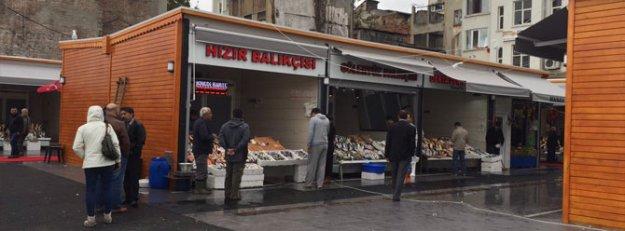 Karaköy Balık Pazarı yeniden açıldı