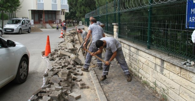 Kartal'da Asfaltlama Çalışmaları