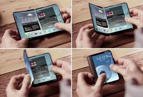 Katlanabilir telefonlara hazır olun