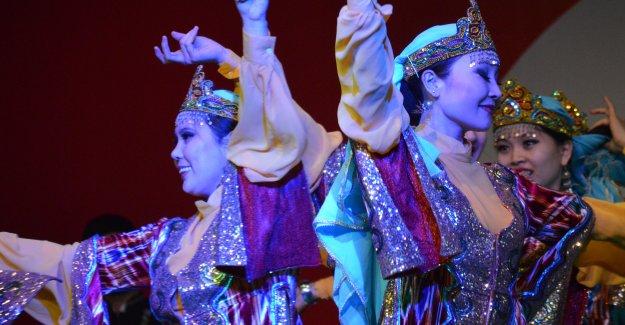 Kazaklar İstanbul'da Görsel Show Yapacak