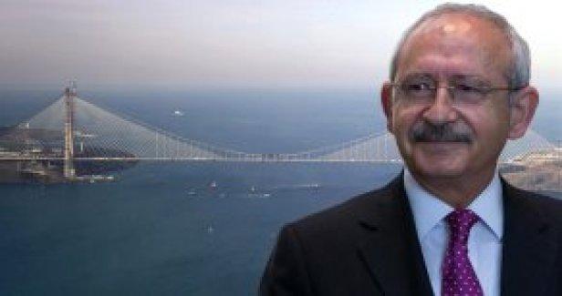 Kılıçdaroğlu 3'üncü Köprünün Adının 'Atatürk Köprüsü' Olmasını Önerdi