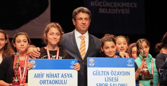 Kış Spor Okulları Ödül Töreni Yapıldı