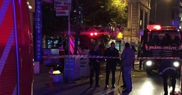 Kumkapı'daki Yabancılar Merkezi'nde isyan