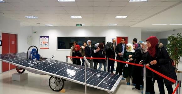 Libya Devlet Okulu Öğrencilerinden Ziyaret