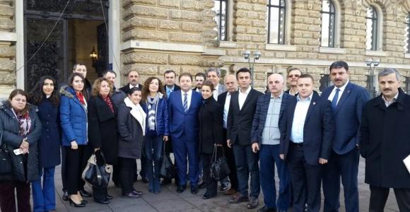 Maltepe Belediyesi Meclis üyeleri Hamburg'da