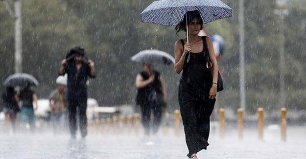 Meteorolji'den sağanak yağış uyarısı