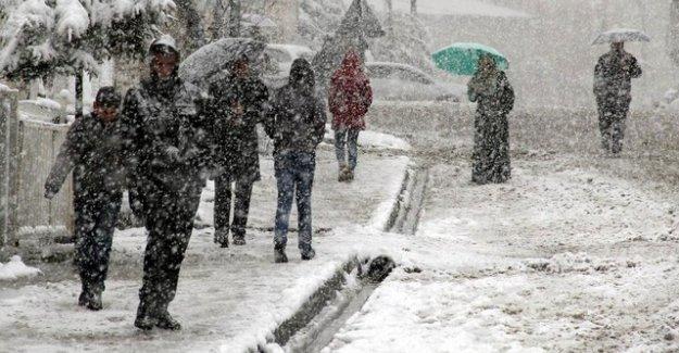 Meteoroloji: Cuma günü kar geliyor