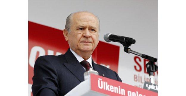 MHP lideri Bahçeli'den flaş 5.parti açıklaması