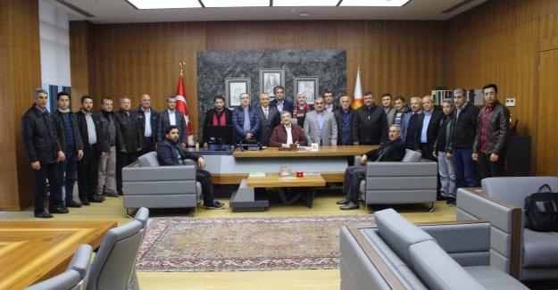 Murat Başkan Malatyalıları Ağırladı