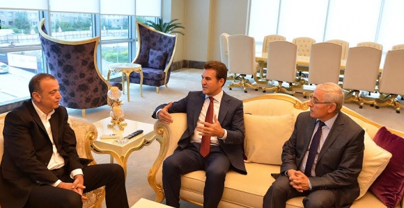 Mustafa Sarıgül, Başkan İlgezdi'yi ziyaret etti