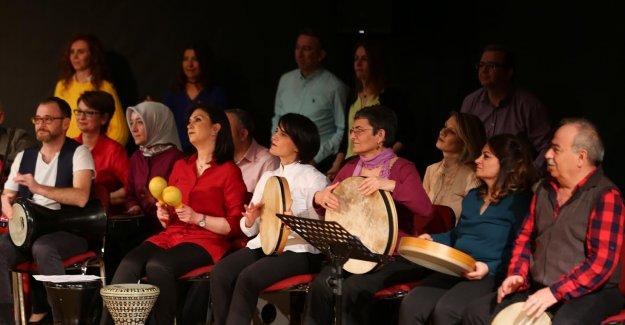 Müzik Akademisi Perküsyon Orkestrası Konserine Büyük İlgi